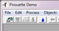 PIR Demo title bar